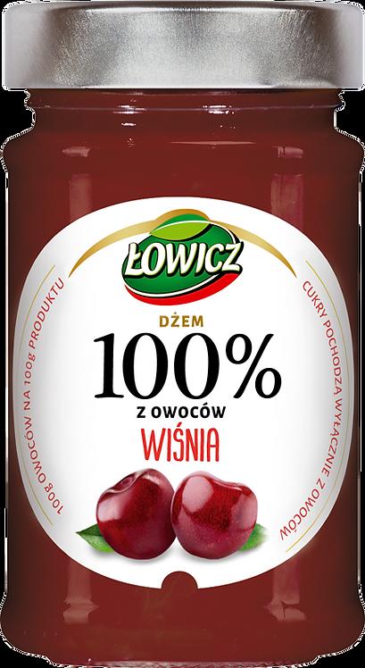 Dzem Wisnia 100% z owocow