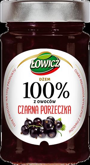 Dzem Czarna Porzeczka 100% z owocow