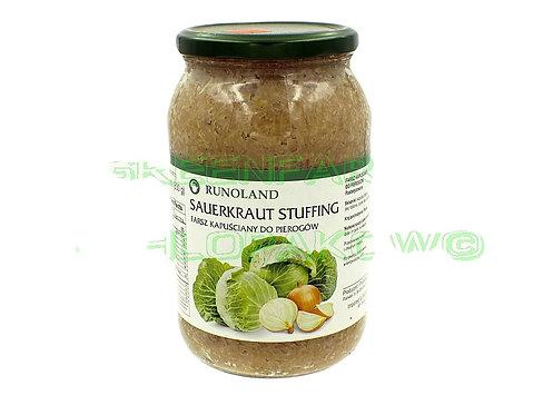 Sauercraut stuffing ( farsz kapusta do pierogow)