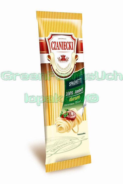 Makaron 100% amber durum spaghetti 500g