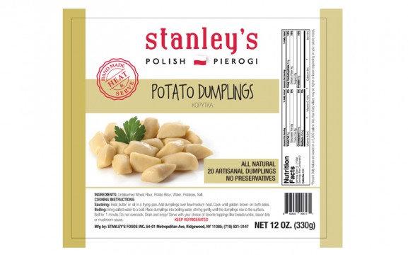 POTATO DUMPLINGS STANLEY'S PIEROGI