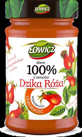 Dzem Dzika Roza 100% z owocow