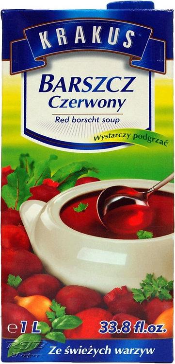 Barszcz Czerwony w Kartonie 1 L.