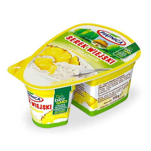 Serek Wiejski z ananasem (every second week delivery)