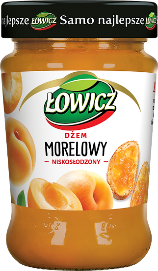 Dzem Morelowy  niskoslodzony