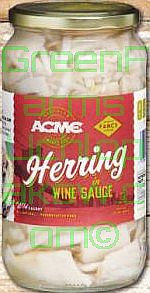 ACME Herrings in Grape Vinegar Fillets  32 Oz.
