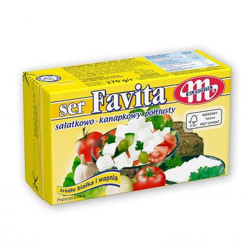 Ser FAVITA Sałatkowo Kanapkowy typu Feta Półtłusty