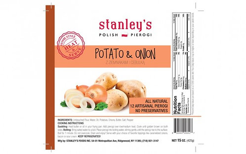 POTATO AND ONION STANLEY'S PIEROGI
