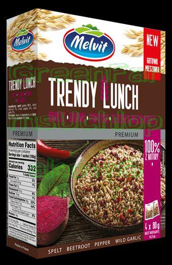 Trendy Lunch ( spelt, beets,pepper)