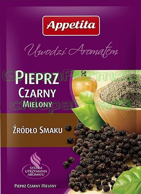 Black pepper Grounded Czarny Pieprz Mielony