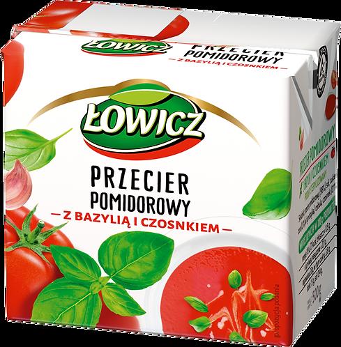 Przecier Pomidorowy z Bazylia i czosnkiem