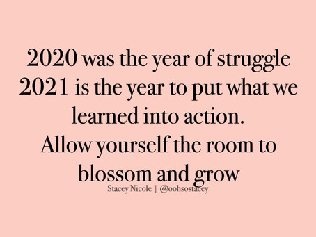 It is time to grow