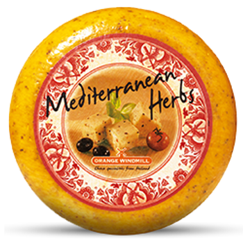 Queijo Gouda Mediterranean Herbs