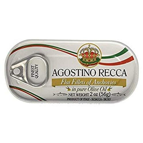 Filé de anchovas Agostino Recca