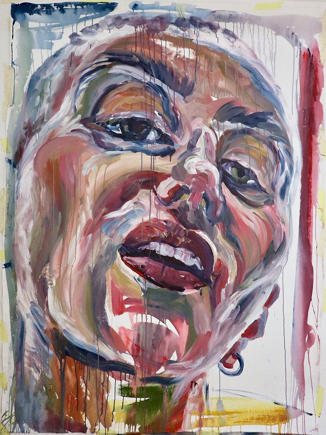 Rebekka Macht Selbstporträt self-portrait