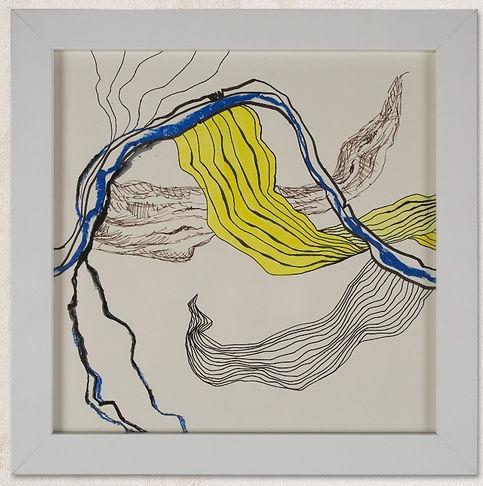 Rebekka Macht drawing sketch lines 2015