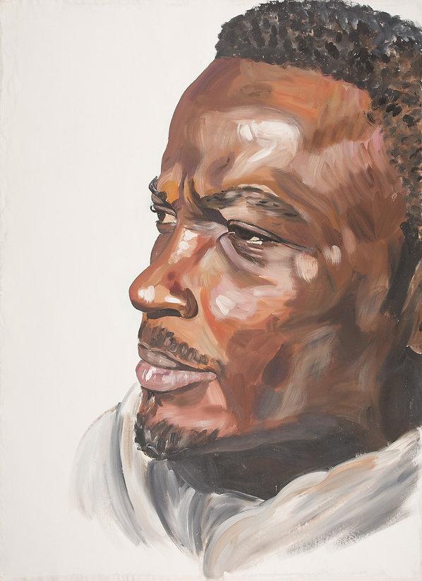 cyril 2013 rebekka macht kunst art artist künstlerin portrait painting