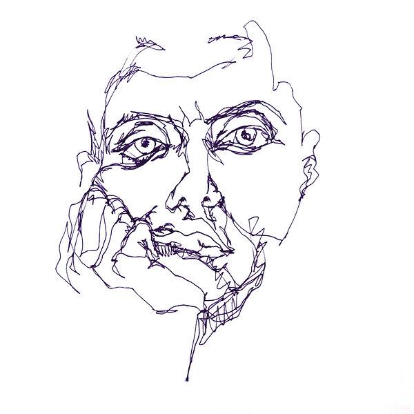 rebekka macht mood sketches selbstporträt self-portrait