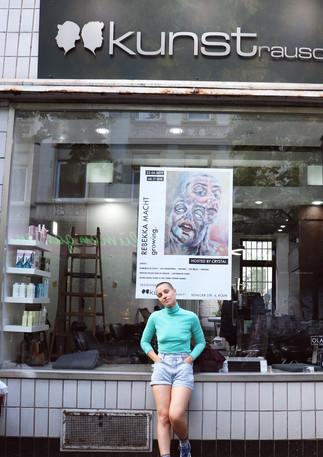 Rebekka Macht: 'growing.' at Kunstrausch Cologne