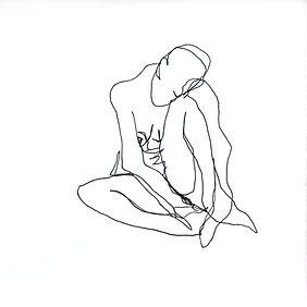 Rebekka Macht sketch artist drawing Healing. Self-Indulgence