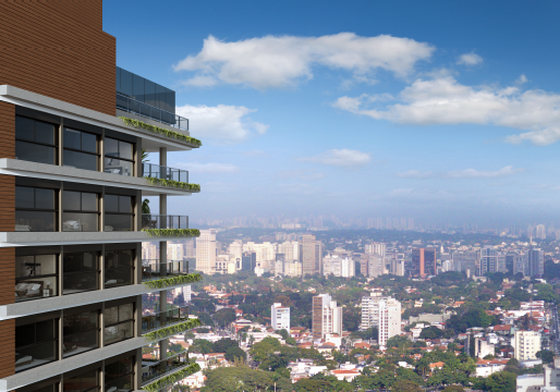 Exclusivo e sofisticado no bairro mais charmoso de São Paulo.