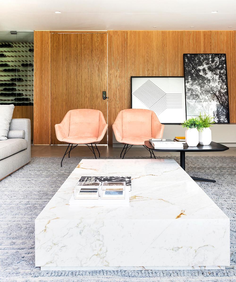 Ambiente do apartamento de 178m2 no Alameda Jardins