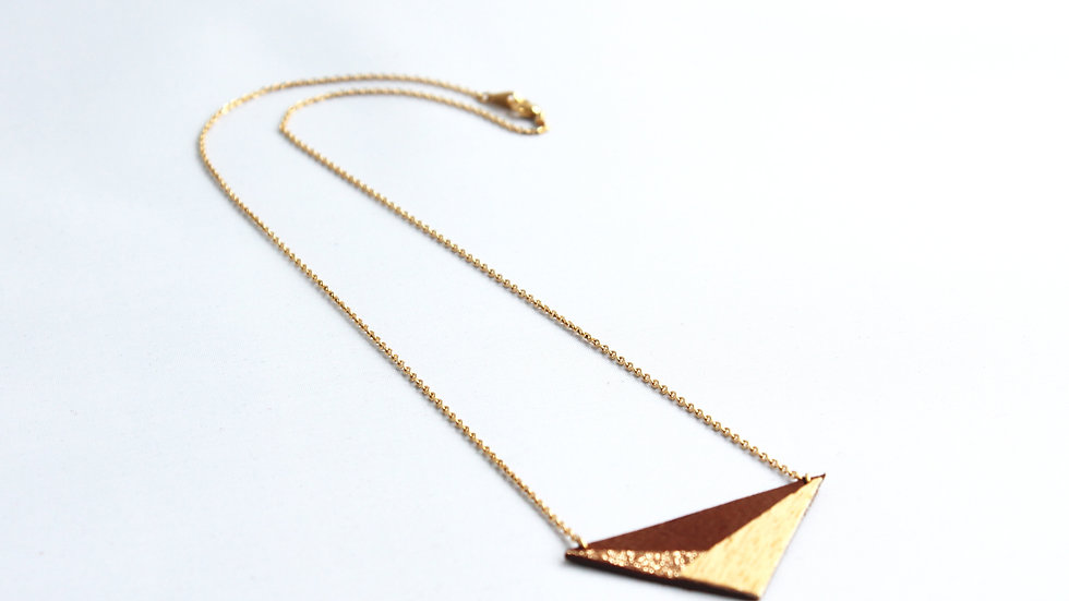 "Collier ""AUSTRAL"" gold"