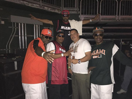 VIBE24-7 RADIO MIAMI' GROUP FREESTYLE