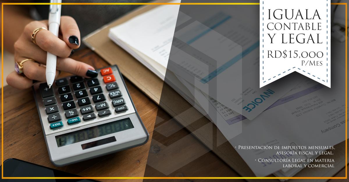 Iguala contable - legal