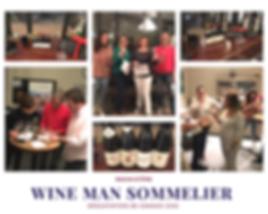 Animation wine man sommelier, dégustation de grands vins, wine challenge, jeu des verres noirs et jeu des arômes