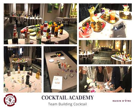 Animation Cocktail Academy, teambuilding création de cocktails en équipe pour une entreprise en region PACA - Provence.