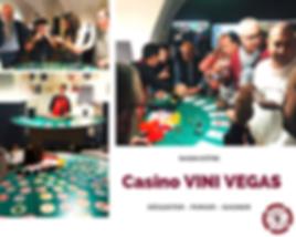 Animation Casino des vins, dégustation de vins de France et jeu des arômes. Animation pour une entreprise après leur séminaire.