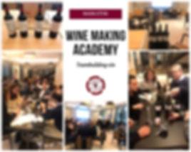 Animation Wine Making Academy, teambuilding entreprise créer son propre vin en équipe, autour de Montpellier.