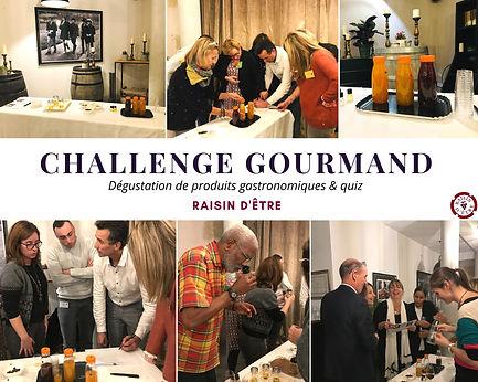 Challenge gourmand : animation dégustation de produits gasronomiques et quiz pour entreprise en Occitanie