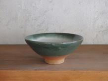 4寸碗・緑