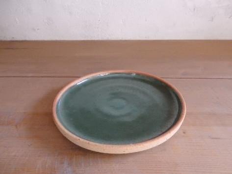 プレート皿(3~8寸)・緑