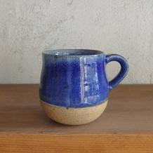 コーヒーカップ・青