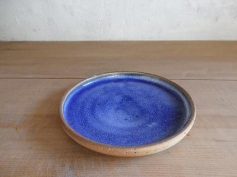 プレート皿(3~8寸)・青
