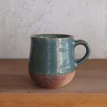 コーヒーカップ・緑