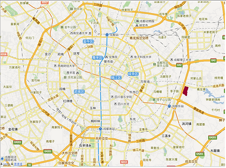 四川省成都市成洛路828号