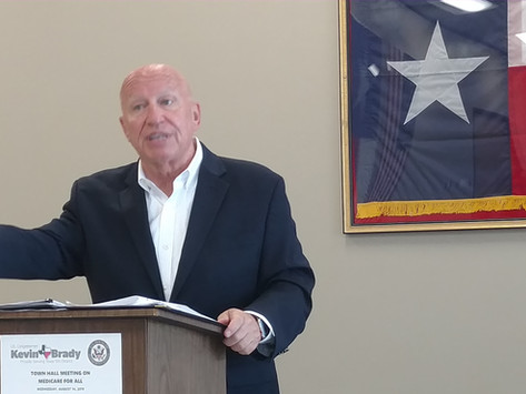 Rep Kevin Brady Discusses Healthcare at Town Hall Meeting (WCP) 8/19/2019