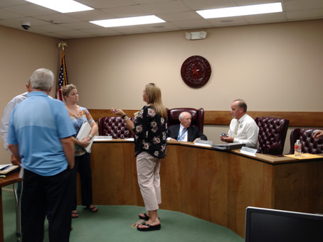 Commissioners Court Reduces Tax Rate (WCP) 7/29/2019