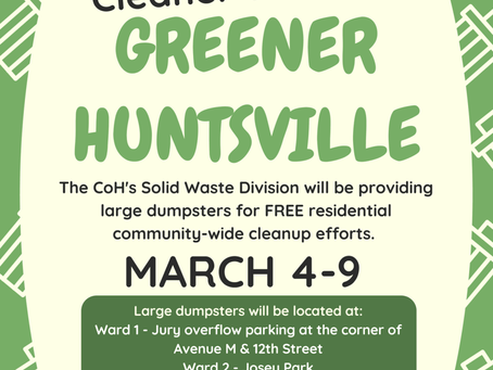 Cleaner Greener Article for Walker County Press posted 6/17/2019