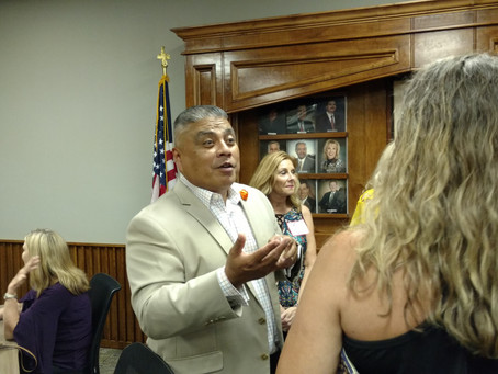 Huntsville Chamber of Commerce Welcomes New CEO Ray Hernandez (WCP) 7/16/2019