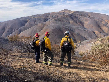 New Waverly Fire Fighters Fight California Wildfires