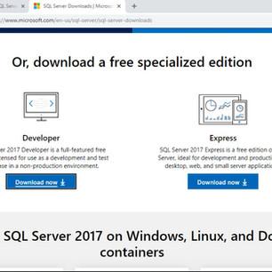 Installation Services pada Window Server 2016 di Database Zone (SQL Server 2017)