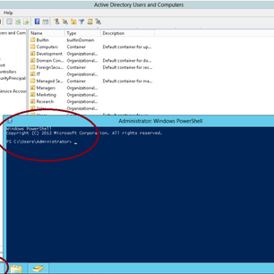 Cara create User Account menggunakan PowerShell di Windows Server 2012