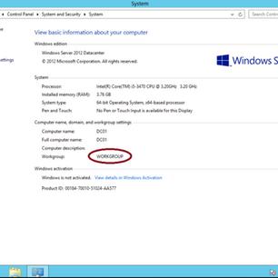 """Panduan Ringkas : Bagaimana untuk """"built"""" Active Directory di Windows Server 2012"""