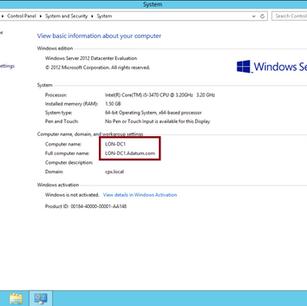 Panduan Mudah untuk Rename Server 2012 AD Host Name
