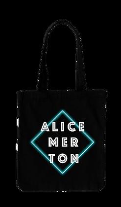 """Alice Merton - Bag """"Square Black"""""""
